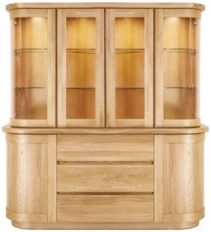 Clemence Richard Sorento Oak Large Dresser
