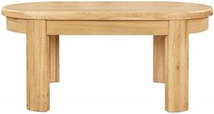 Clemence Richard Sorento Oak Coffee Table