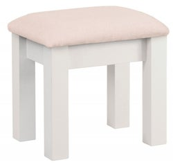 Corndell Annecy White Painted Dressing Stool