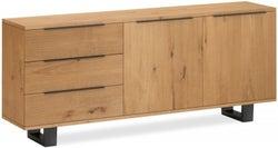 Corndell Oak Mill Waxed Oak Wide Sideboard