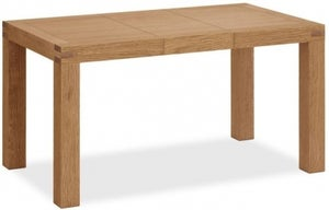 Corndell Sherwood Rustic Oak 110cm-145cm Extending Dining Table