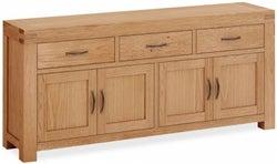 Corndell Sherwood Rustic Oak Extra Large Sideboard