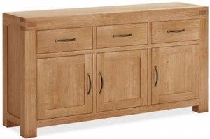Corndell Sherwood Rustic Oak Large Sideboard