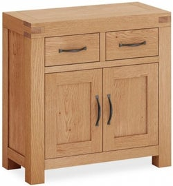 Corndell Sherwood Rustic Oak Mini Sideboard