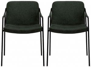 Dan Form Boto Sage Green Fabric Dining Chair (Pair)