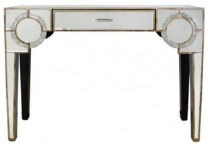 Angelo Antique Mirrored Console Table