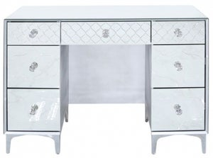 Colorado Mirrored Double Pedestal Dressing Table