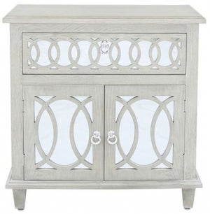 Melville Natural Mirrored Sideboard