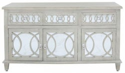 Melville Natural Mirrored Large Sideboard