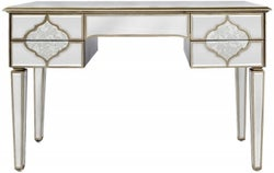 Morocco Champagne Mirrored Dressing Table
