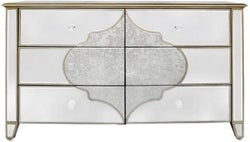 Morocco Champagne Mirrored Large Sideboard