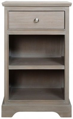 Serra Taupe Compact Bedside Cabinet