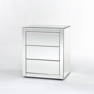 Deknudt Caro Mirrored Bedside Cabinet