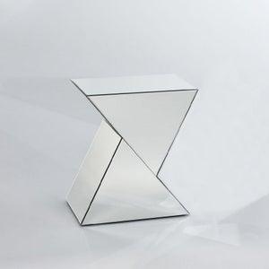 Deknudt Duet Mirrored Side Table