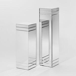 Deknudt Ribbon Large Mirrored Pillar