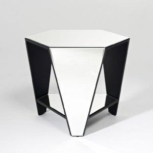 Deknudt Smart Mirrored Large Side Table
