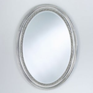 Deknudt Amandine Silver Oval Wall Mirror