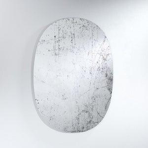 Deknudt Grunge Oval Wall Mirror