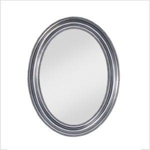 Deknudt Pearl Silver Oval Wall Mirror