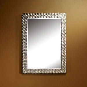 Deknudt Almeria Silver Large Hall Mirror