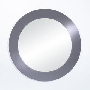 Deknudt Basic Grey Round Wall Mirror