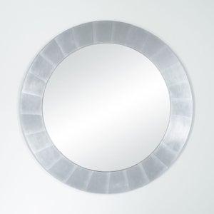 Deknudt Basic Silver Round Wall Mirror