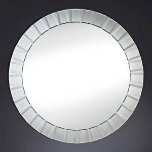 Deknudt Club Round Wall Mirror