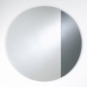 Deknudt Cord Grey L Round Wall Mirror