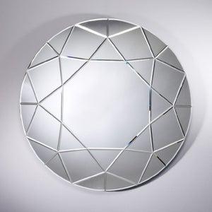 Deknudt Diamond Round Wall Mirror