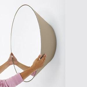 Deknudt Edvard Moka Round Wall Mirror