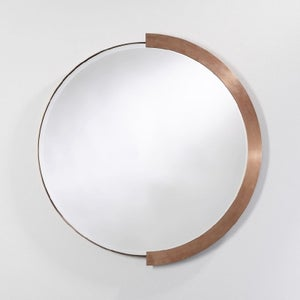Deknudt Fifi Copper Round Wall Mirror