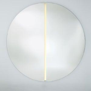 Deknudt Luna Light Round Wall Mirror