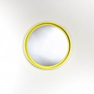 Deknudt Radius S Yellow Round Wall Mirror