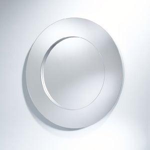Deknudt Rado Silver Round Wall Mirror