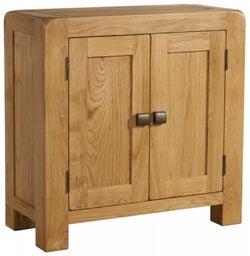 Avon Oak 2 Door Small Cabinet