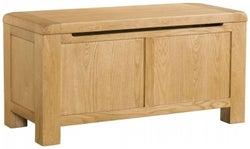 Avon Oak Blanket Box