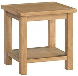 Burford Oak Lamp Table