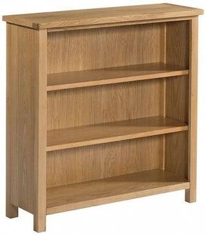 Burford Oak Low Bookcase