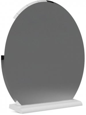 Corton Light Grey Painted Dressing Table Mirror