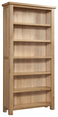 Dorset Oak High Bookcase