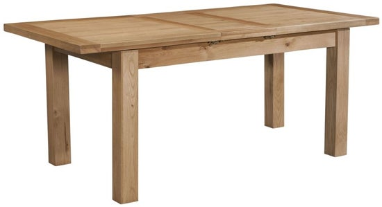 Dorset Oak Dining Table with One Extensions