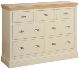 Lundy Painted 3 Over 4 Drawer Jumper Chest