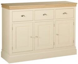 Lundy Painted 3 Door Large Sideboard