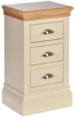 Lundy Painted Compact Bedside Cabinet