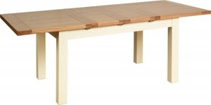 Lundy Painted Dining Table with Two Extensions