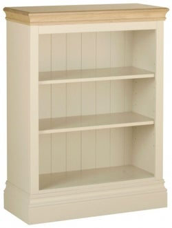 Lundy Painted Low Bookcase