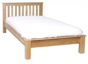 New Oak Bed
