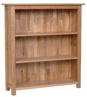 New Oak Low Bookcase