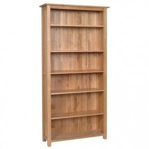 New Oak High Bookcase