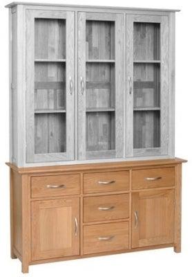 New Oak Large Dresser Base